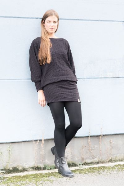 Long Shirt, schwarz