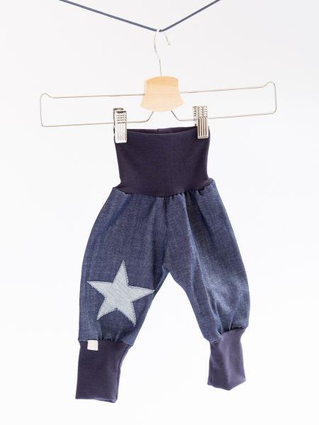 Mitwachshose Jeans mit Stern