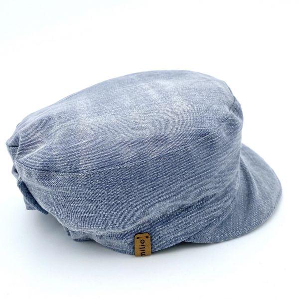 Michelmütze Jeans Vintage L06 Gr. L
