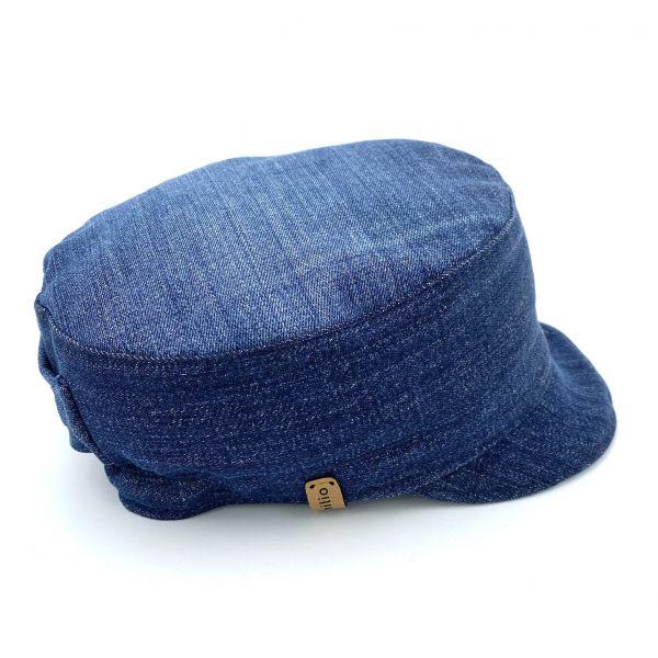 Michelmütze Jeans Vintage M01 Gr. M